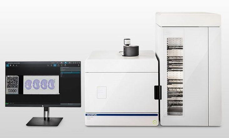 Olympus VS200 Slide Scanner Demo at Cell imaging core