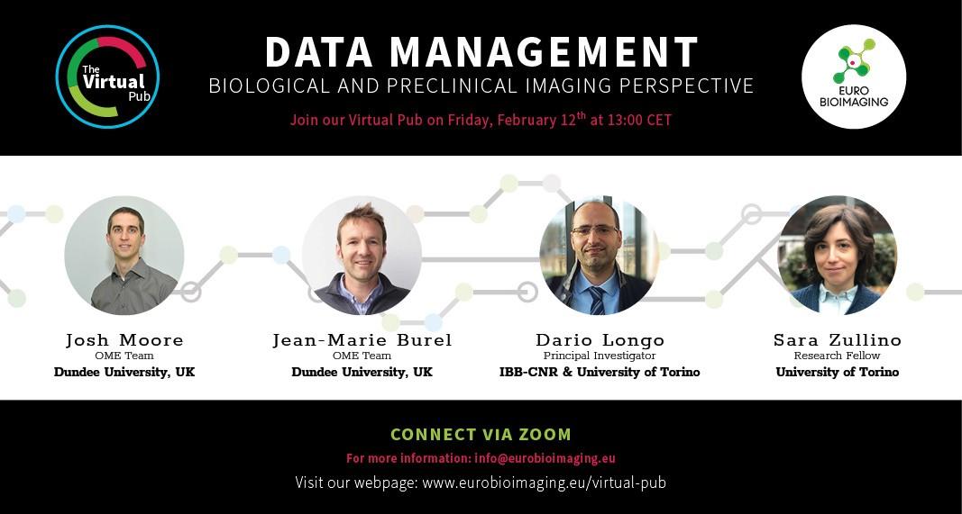 Weekly Euro-BioImaging Virtual Pub, Friday Feb 12th