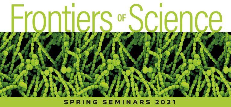 Frontiers of Science spring program 2021