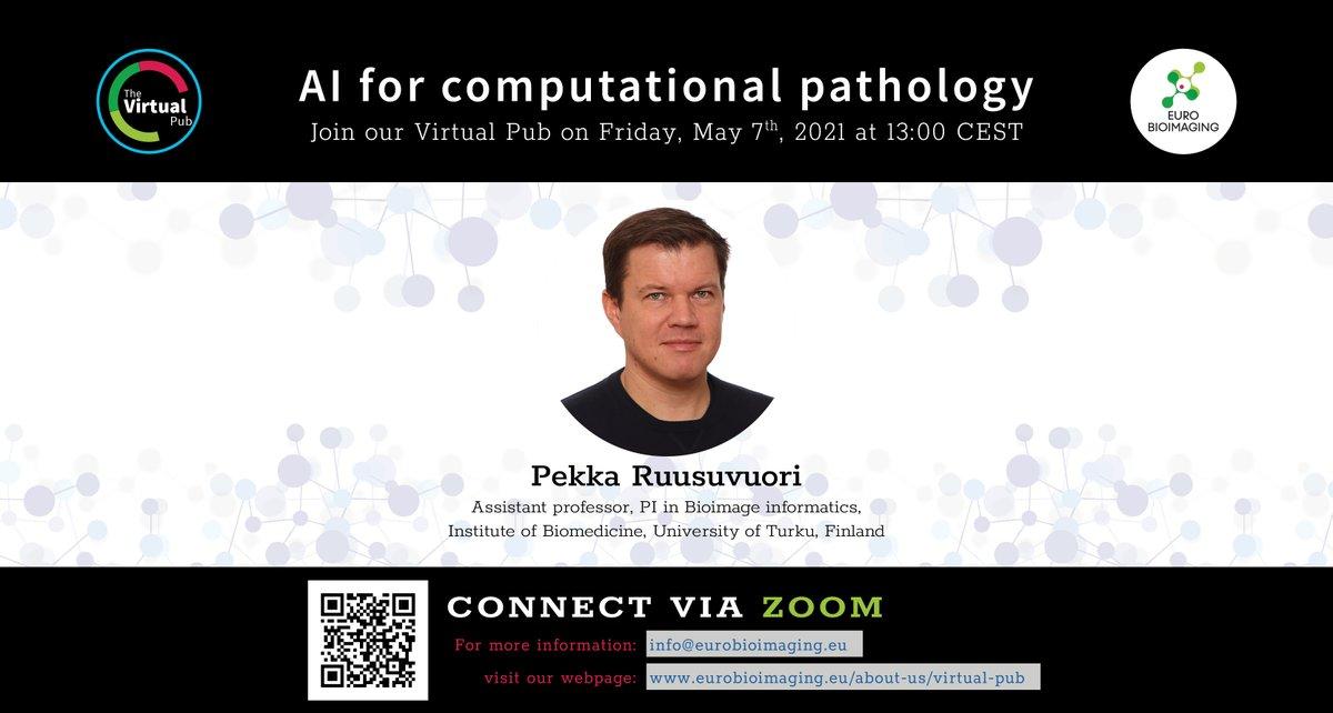 Weekly Euro-BioImaging Virtual Pub, Friday May 7th